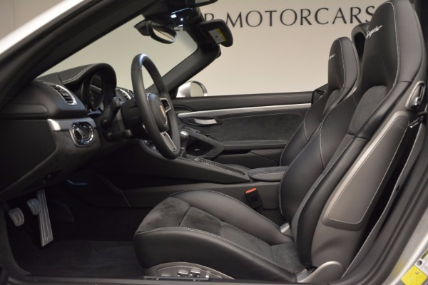 Used 2016 Porsche Boxster Spyder for sale Sold at Alfa Romeo of Westport in Westport CT 06880 21