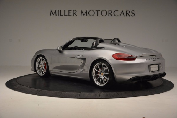 Used 2016 Porsche Boxster Spyder for sale Sold at Alfa Romeo of Westport in Westport CT 06880 4
