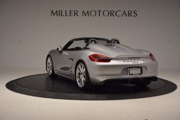 Used 2016 Porsche Boxster Spyder for sale Sold at Alfa Romeo of Westport in Westport CT 06880 5