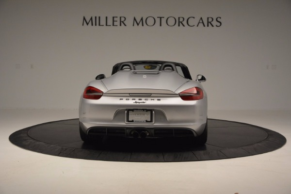 Used 2016 Porsche Boxster Spyder for sale Sold at Alfa Romeo of Westport in Westport CT 06880 6