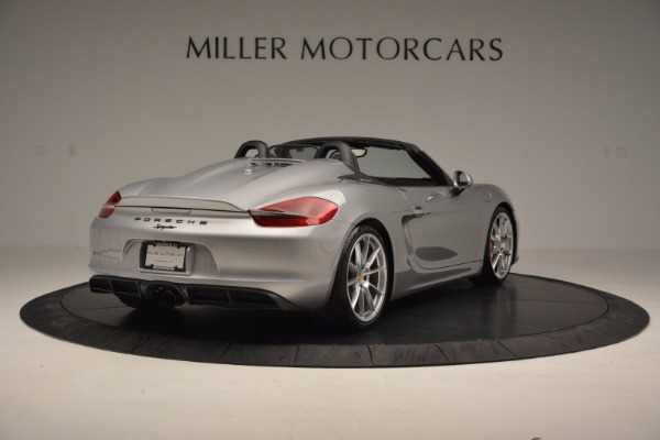 Used 2016 Porsche Boxster Spyder for sale Sold at Alfa Romeo of Westport in Westport CT 06880 7