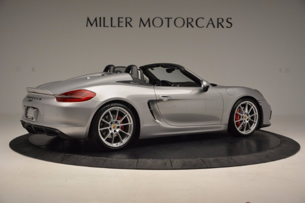 Used 2016 Porsche Boxster Spyder for sale Sold at Alfa Romeo of Westport in Westport CT 06880 8