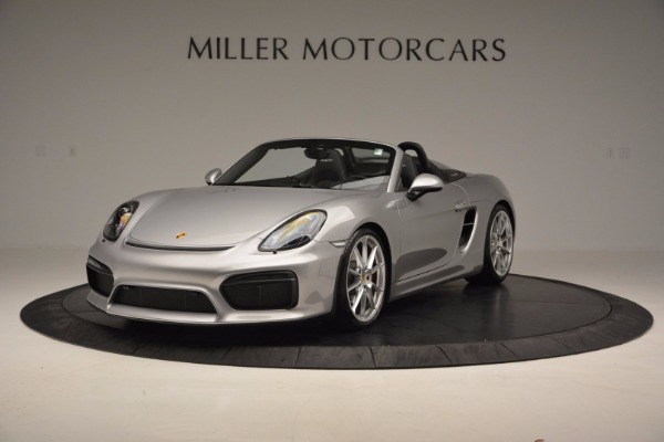 Used 2016 Porsche Boxster Spyder for sale Sold at Alfa Romeo of Westport in Westport CT 06880 1