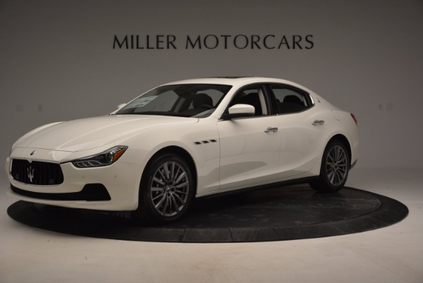 New 2017 Maserati Ghibli SQ4 for sale Sold at Alfa Romeo of Westport in Westport CT 06880 2