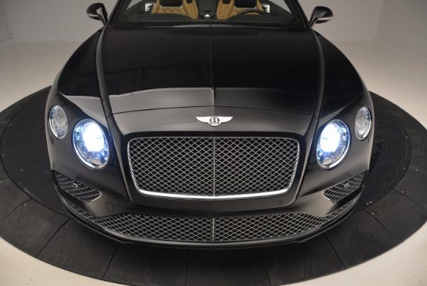 Used 2016 Bentley Continental GT Speed Convertible for sale Sold at Alfa Romeo of Westport in Westport CT 06880 22