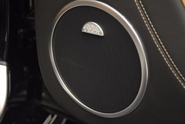 Used 2016 Bentley Continental GT Speed Convertible for sale Sold at Alfa Romeo of Westport in Westport CT 06880 28