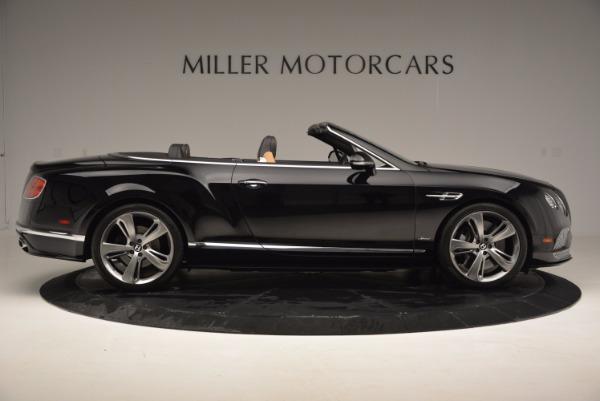 Used 2016 Bentley Continental GT Speed Convertible for sale Sold at Alfa Romeo of Westport in Westport CT 06880 9