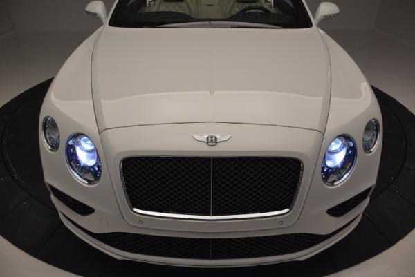 New 2017 Bentley Continental GT Speed Convertible for sale Sold at Alfa Romeo of Westport in Westport CT 06880 27