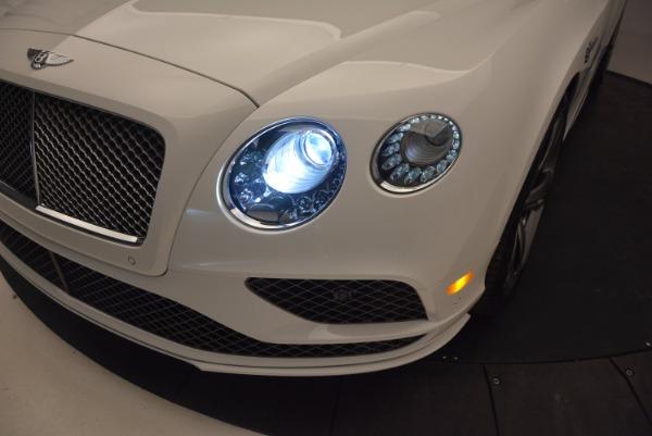 New 2017 Bentley Continental GT Speed Convertible for sale Sold at Alfa Romeo of Westport in Westport CT 06880 28