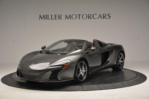 Used 2016 McLaren 650S SPIDER Convertible for sale Sold at Alfa Romeo of Westport in Westport CT 06880 2