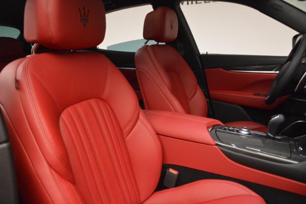 New 2017 Maserati Levante S Q4 for sale Sold at Alfa Romeo of Westport in Westport CT 06880 25
