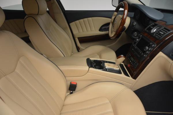 Used 2010 Maserati Quattroporte S for sale Sold at Alfa Romeo of Westport in Westport CT 06880 18
