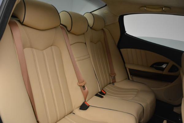 Used 2010 Maserati Quattroporte S for sale Sold at Alfa Romeo of Westport in Westport CT 06880 20