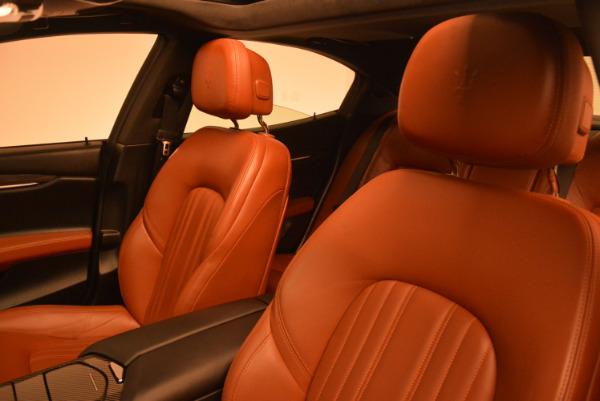 Used 2014 Maserati Ghibli S Q4 for sale Sold at Alfa Romeo of Westport in Westport CT 06880 16