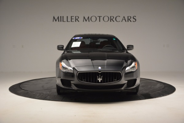 Used 2015 Maserati Quattroporte S Q4 for sale Sold at Alfa Romeo of Westport in Westport CT 06880 12
