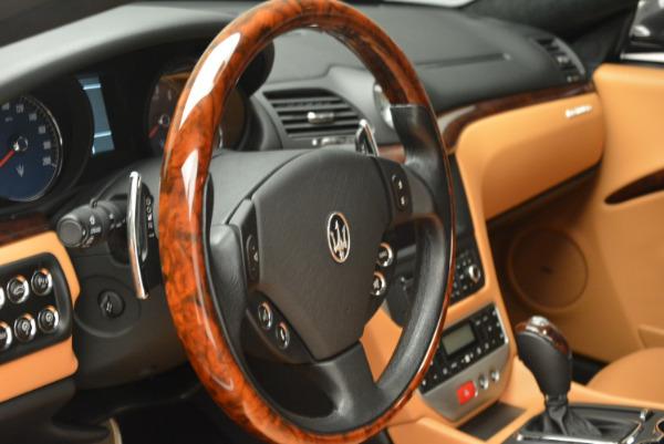 Used 2011 Maserati GranTurismo for sale Sold at Alfa Romeo of Westport in Westport CT 06880 16
