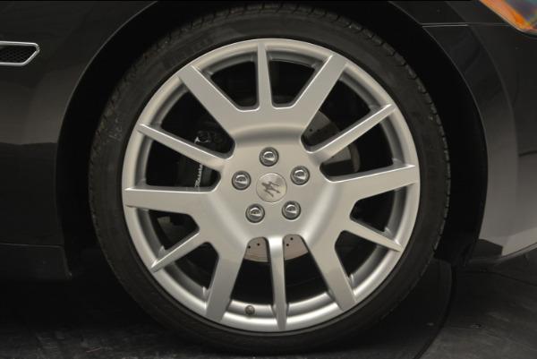 Used 2011 Maserati GranTurismo for sale Sold at Alfa Romeo of Westport in Westport CT 06880 22