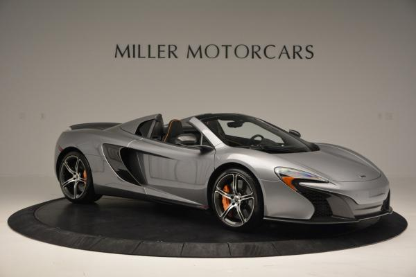 Used 2016 McLaren 650S SPIDER Convertible for sale Sold at Alfa Romeo of Westport in Westport CT 06880 10