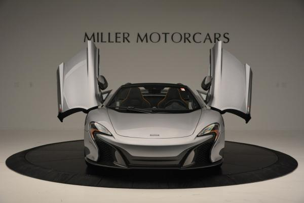 Used 2016 McLaren 650S SPIDER Convertible for sale Sold at Alfa Romeo of Westport in Westport CT 06880 13