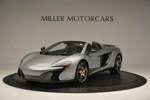 Used 2016 McLaren 650S SPIDER Convertible for sale Sold at Alfa Romeo of Westport in Westport CT 06880 2