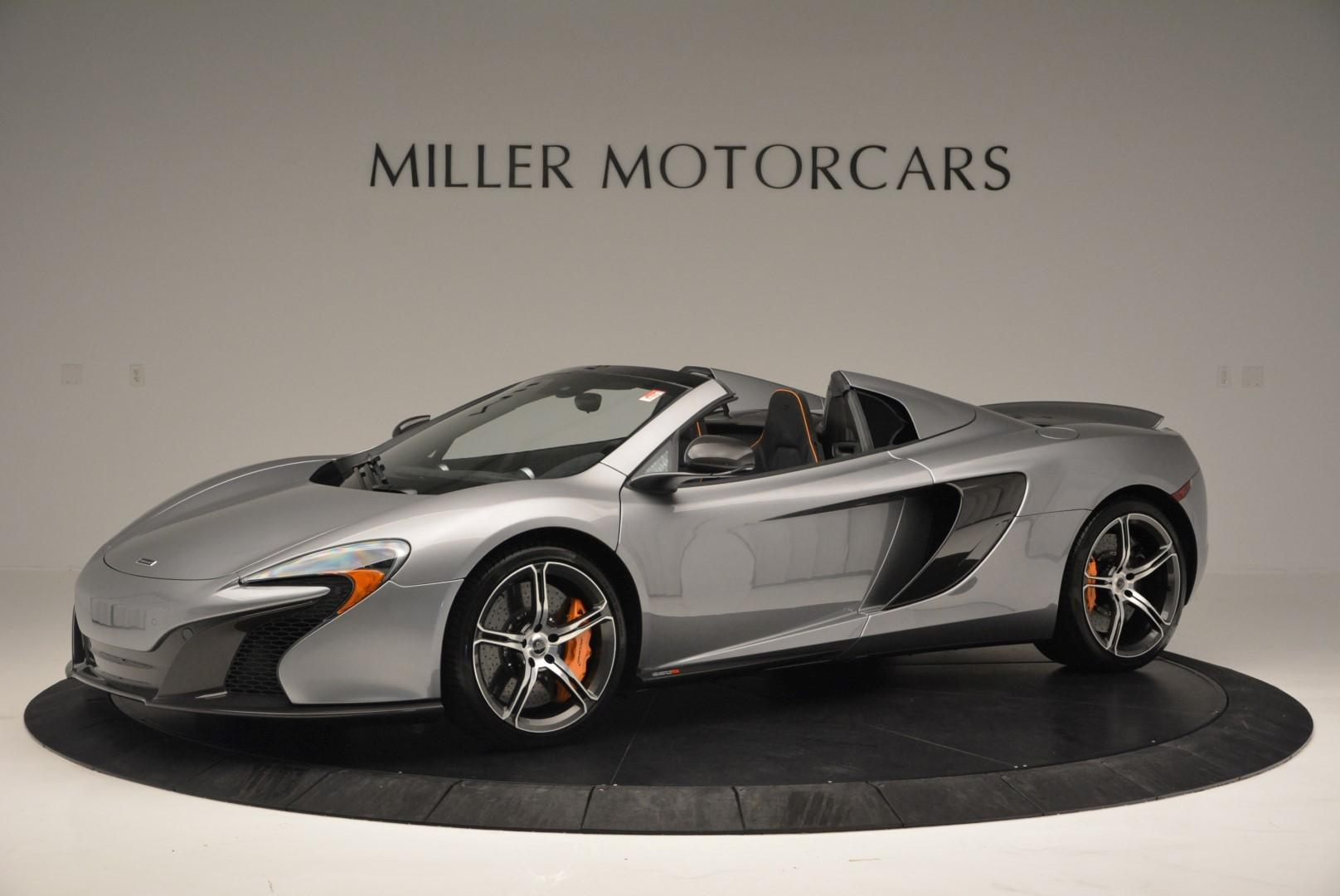Used 2016 McLaren 650S SPIDER Convertible for sale Sold at Alfa Romeo of Westport in Westport CT 06880 1
