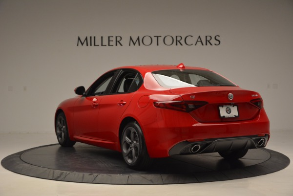 New 2017 Alfa Romeo Giulia for sale Sold at Alfa Romeo of Westport in Westport CT 06880 5