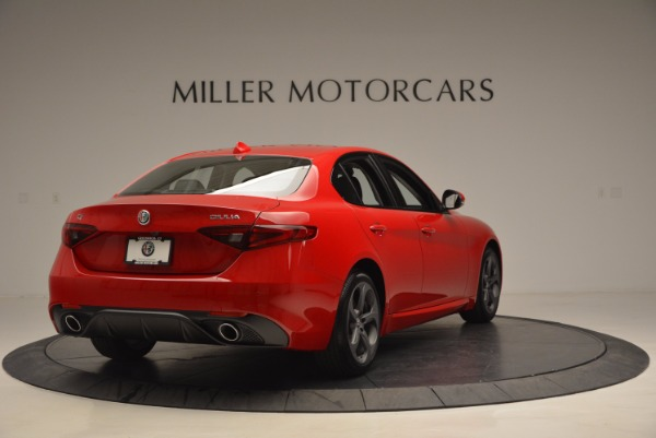 New 2017 Alfa Romeo Giulia for sale Sold at Alfa Romeo of Westport in Westport CT 06880 7