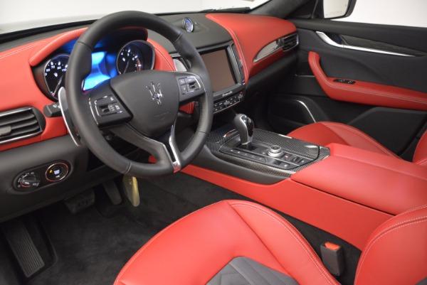 New 2017 Maserati Levante S Zegna Edition for sale Sold at Alfa Romeo of Westport in Westport CT 06880 13