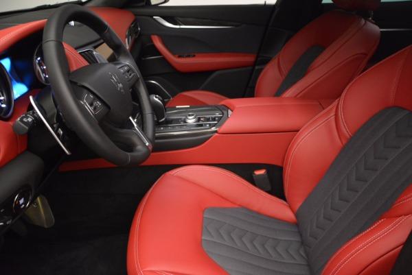 New 2017 Maserati Levante S Zegna Edition for sale Sold at Alfa Romeo of Westport in Westport CT 06880 14