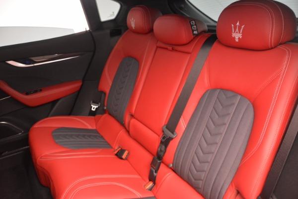 New 2017 Maserati Levante S Zegna Edition for sale Sold at Alfa Romeo of Westport in Westport CT 06880 19