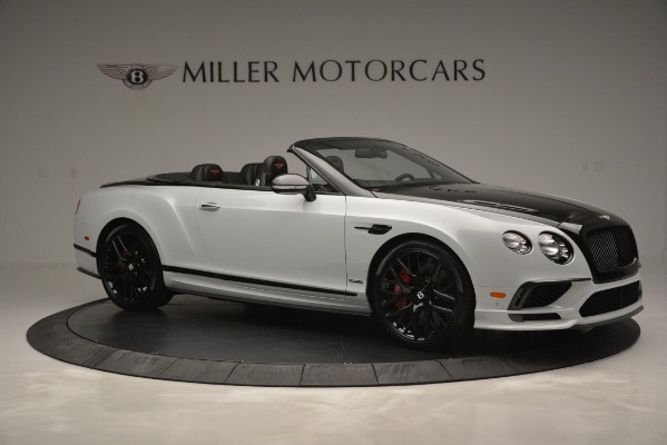 New 2018 Bentley Continental GT Supersports Convertible for sale Sold at Alfa Romeo of Westport in Westport CT 06880 10