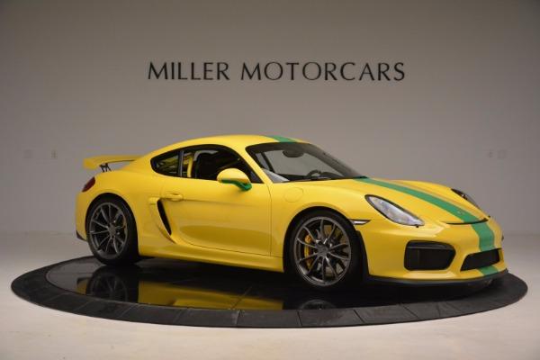 Used 2016 Porsche Cayman GT4 for sale Sold at Alfa Romeo of Westport in Westport CT 06880 10