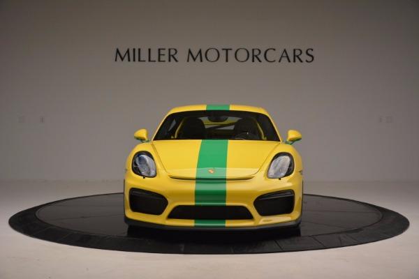 Used 2016 Porsche Cayman GT4 for sale Sold at Alfa Romeo of Westport in Westport CT 06880 12