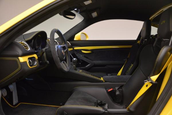 Used 2016 Porsche Cayman GT4 for sale Sold at Alfa Romeo of Westport in Westport CT 06880 14