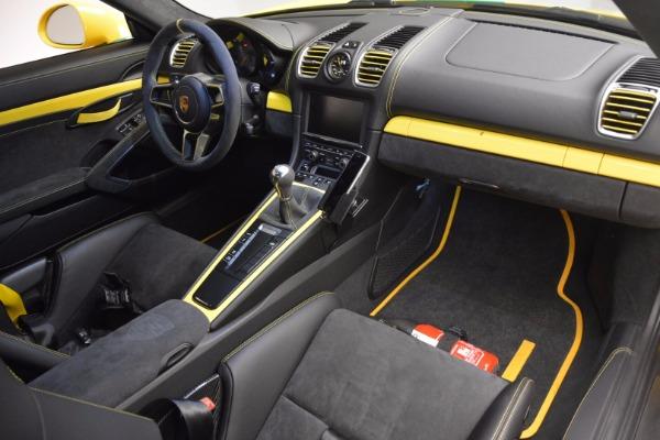 Used 2016 Porsche Cayman GT4 for sale Sold at Alfa Romeo of Westport in Westport CT 06880 16