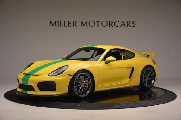 Used 2016 Porsche Cayman GT4 for sale Sold at Alfa Romeo of Westport in Westport CT 06880 2