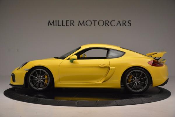 Used 2016 Porsche Cayman GT4 for sale Sold at Alfa Romeo of Westport in Westport CT 06880 3