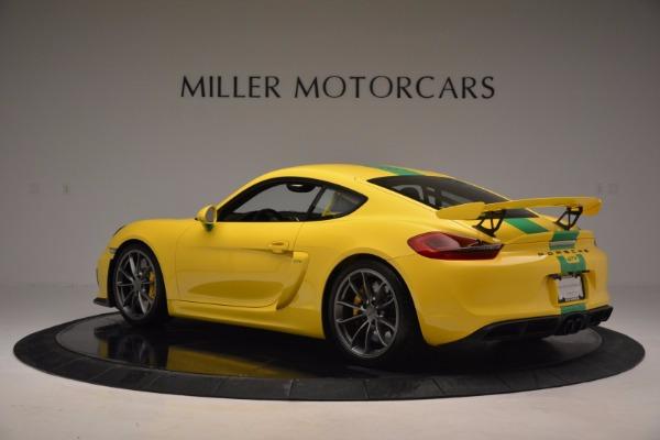 Used 2016 Porsche Cayman GT4 for sale Sold at Alfa Romeo of Westport in Westport CT 06880 4