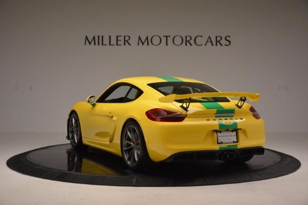 Used 2016 Porsche Cayman GT4 for sale Sold at Alfa Romeo of Westport in Westport CT 06880 5