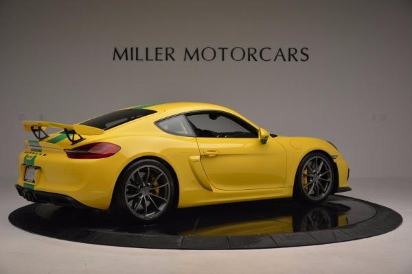 Used 2016 Porsche Cayman GT4 for sale Sold at Alfa Romeo of Westport in Westport CT 06880 8