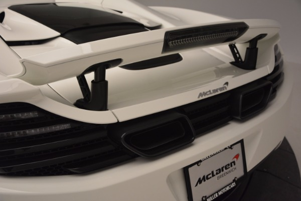 Used 2014 McLaren MP4-12C Spider for sale Sold at Alfa Romeo of Westport in Westport CT 06880 22