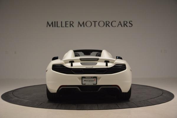 Used 2014 McLaren MP4-12C Spider for sale Sold at Alfa Romeo of Westport in Westport CT 06880 6