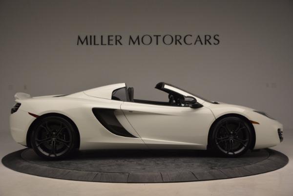 Used 2014 McLaren MP4-12C Spider for sale Sold at Alfa Romeo of Westport in Westport CT 06880 9