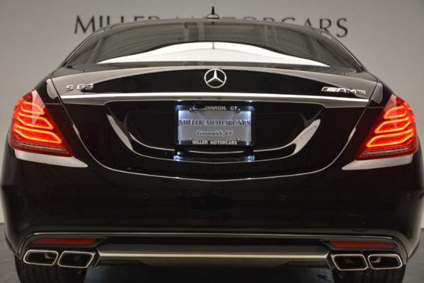Used 2014 Mercedes Benz S-Class S 63 AMG for sale Sold at Alfa Romeo of Westport in Westport CT 06880 15