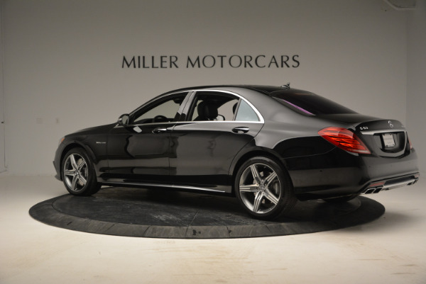 Used 2014 Mercedes Benz S-Class S 63 AMG for sale Sold at Alfa Romeo of Westport in Westport CT 06880 4