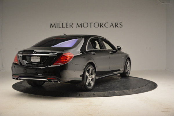 Used 2014 Mercedes Benz S-Class S 63 AMG for sale Sold at Alfa Romeo of Westport in Westport CT 06880 7