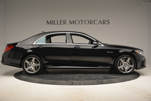 Used 2014 Mercedes Benz S-Class S 63 AMG for sale Sold at Alfa Romeo of Westport in Westport CT 06880 9