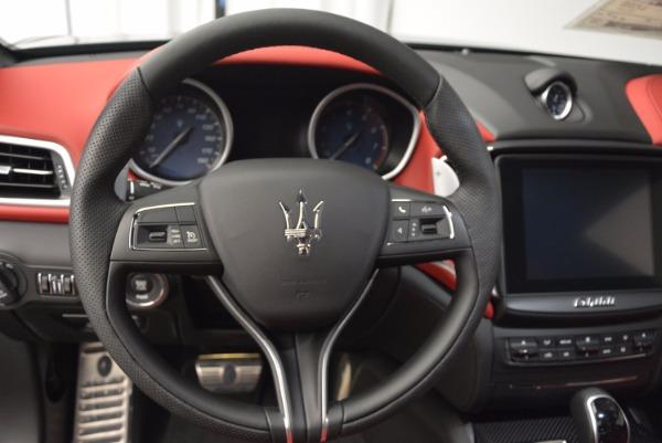 New 2017 Maserati Ghibli SQ4 for sale Sold at Alfa Romeo of Westport in Westport CT 06880 14