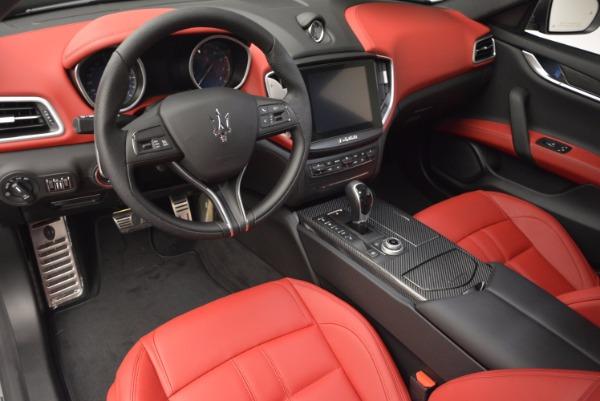 New 2017 Maserati Ghibli SQ4 for sale Sold at Alfa Romeo of Westport in Westport CT 06880 15