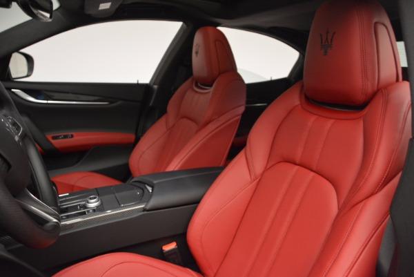 New 2017 Maserati Ghibli SQ4 for sale Sold at Alfa Romeo of Westport in Westport CT 06880 18